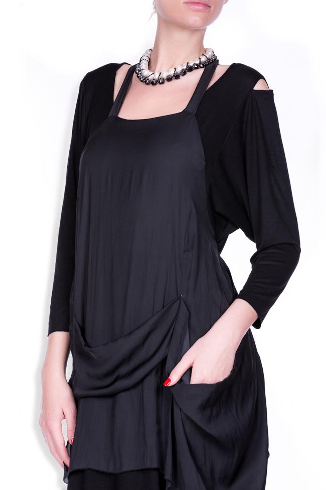 Apron18 cotton-blend maxi dress Studio Cabal image 3