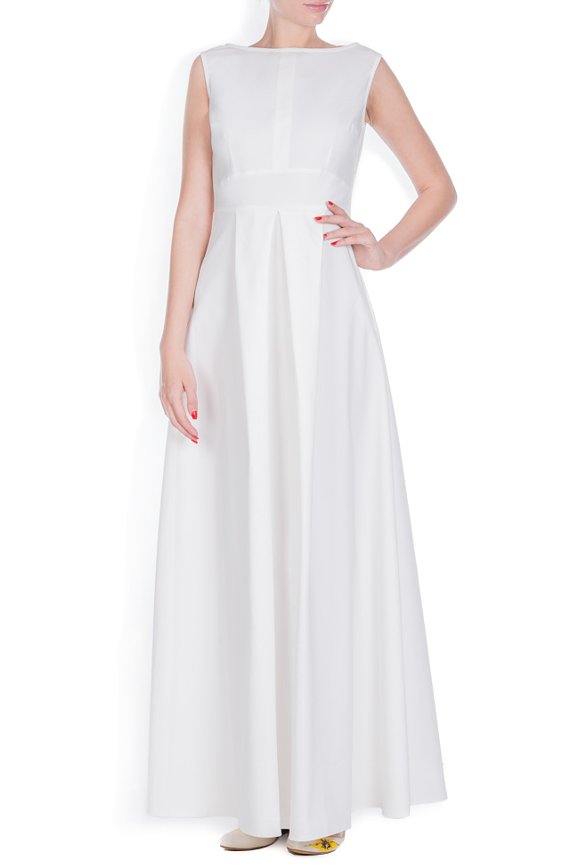 Cotton-blend maxi dress Ronen Haliva image 0