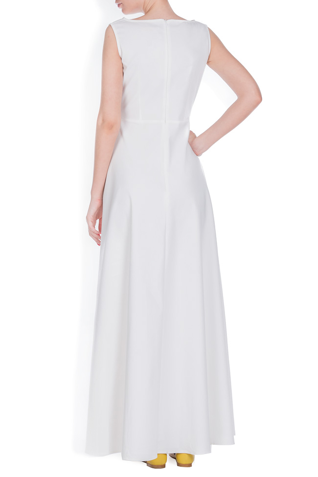 Cotton-blend maxi dress Ronen Haliva image 2