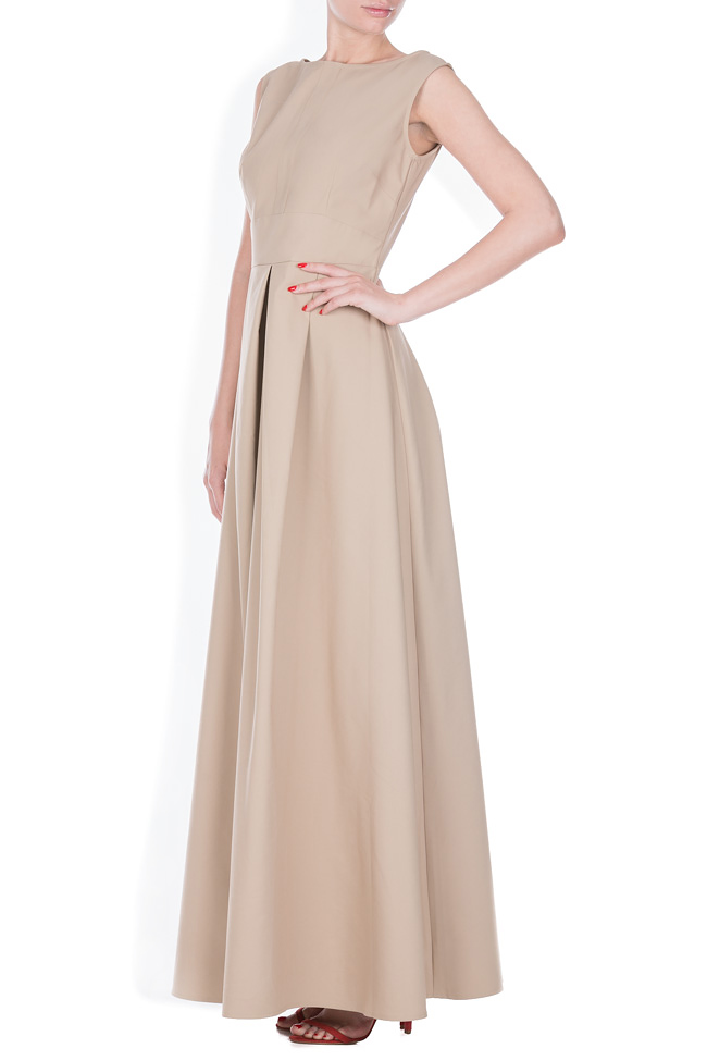 Cotton-blend maxi dress Ronen Haliva image 1