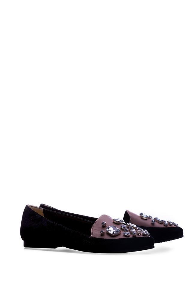 Embellished suede loafers Giuka by Nicolaescu Georgiana  image 1
