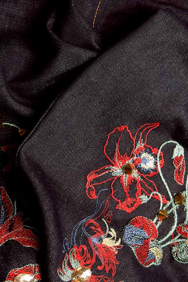 Tokyo embroidered jeans Elena Perseil image 4