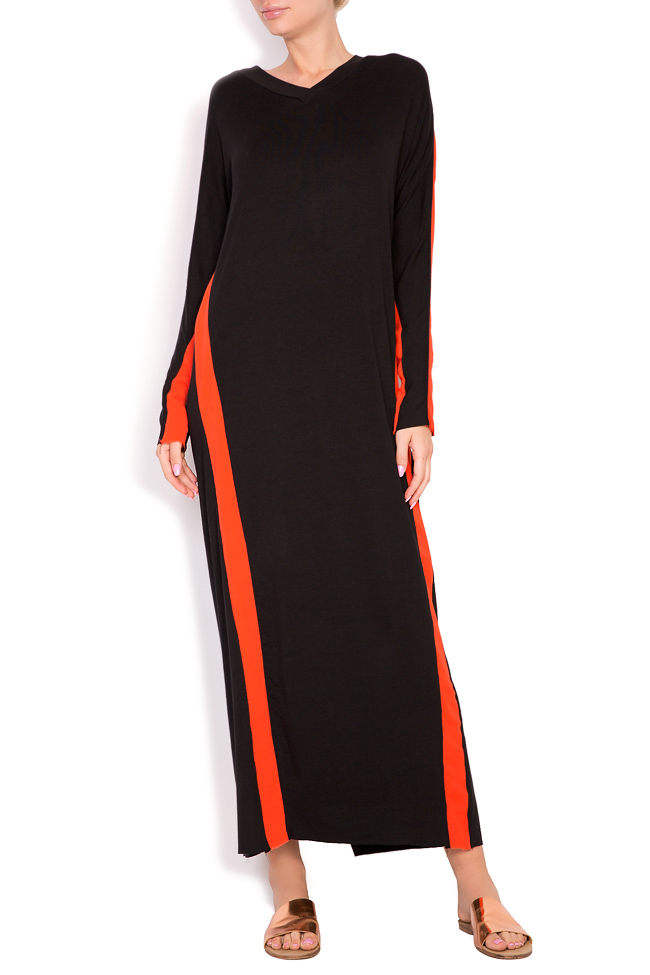 Stripe jersey maxi dress Studio Cabal image 0