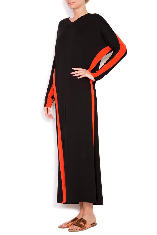 Stripe jersey maxi dress Studio Cabal image 1