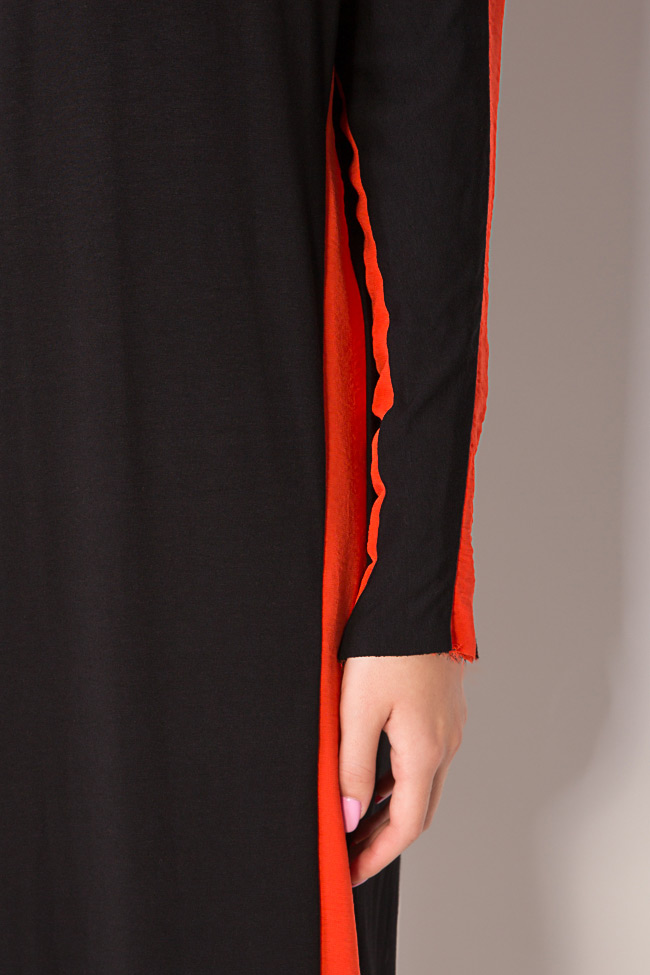 Stripe jersey maxi dress Studio Cabal image 3