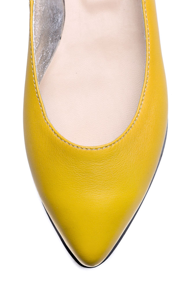 Leather platform ballet flats  Giuka by Nicolaescu Georgiana  image 3