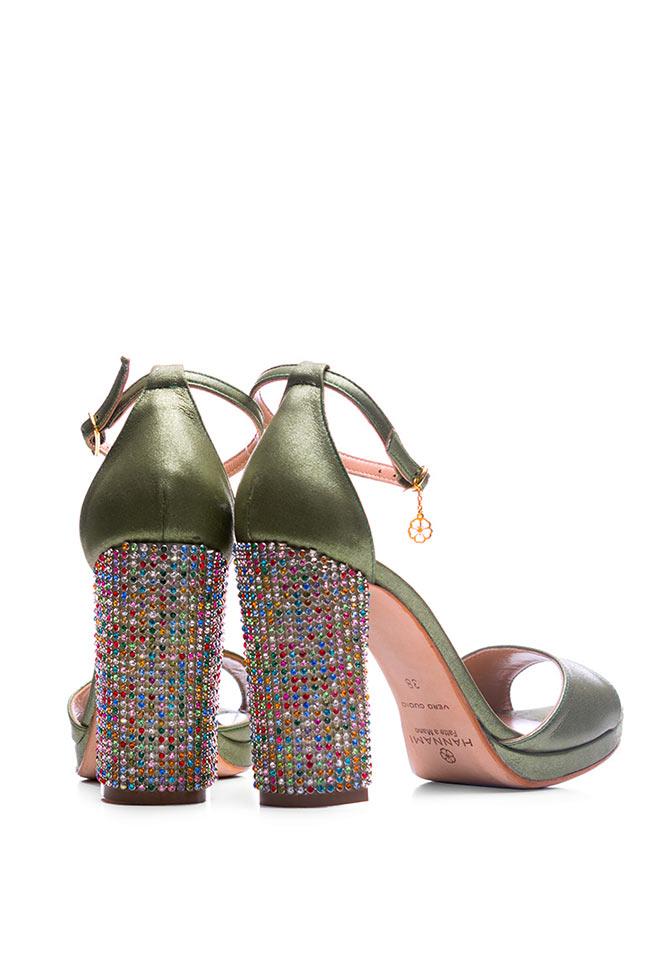 Sandale din piele accesorizate Delight Hannami imagine 2