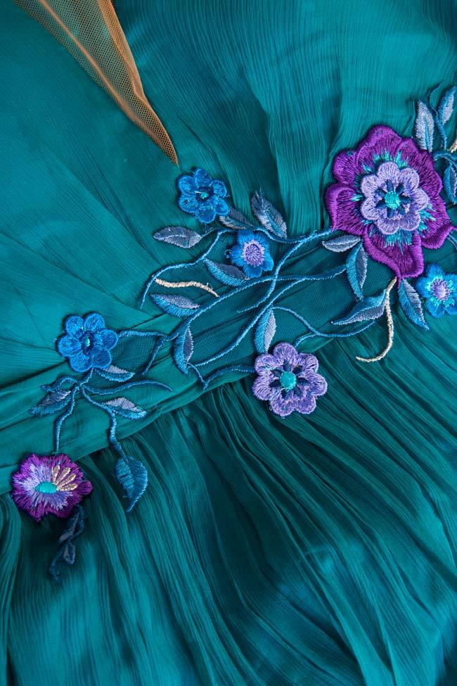 Sophie embellished silk gown Mirela Pellegrini image 4