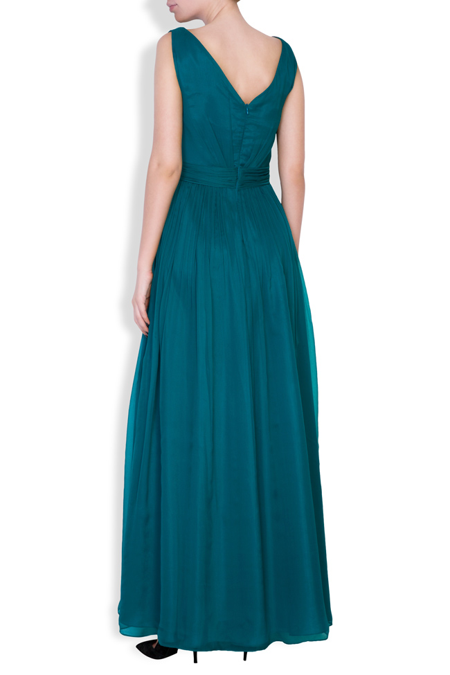 Sophie embellished silk gown Mirela Pellegrini image 2