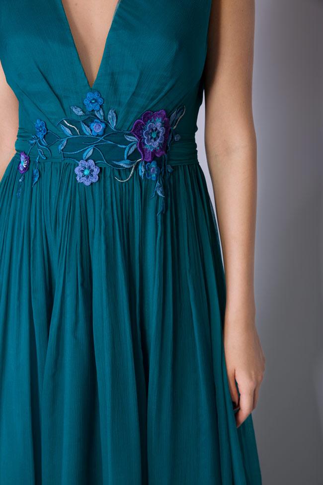 Sophie embellished silk gown Mirela Pellegrini image 3