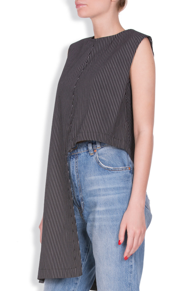 Asymmetric striped top AD The Brand image 1