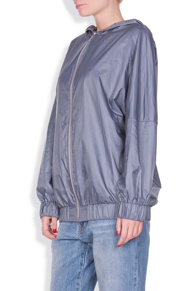 Hooded shell bomber jacket AD The Brand image 1