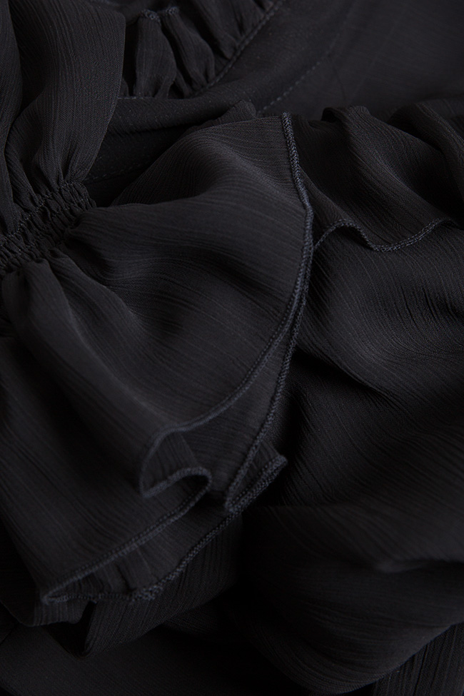 Robe en voile avec des volants Monarh image 4
