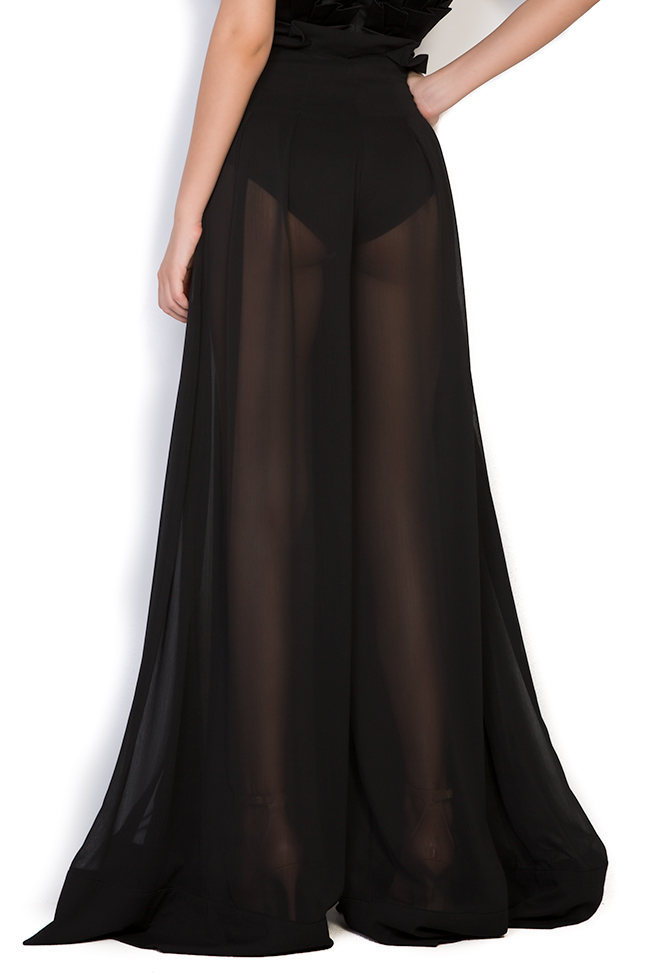 Pantalon large en voile Monarh image 2