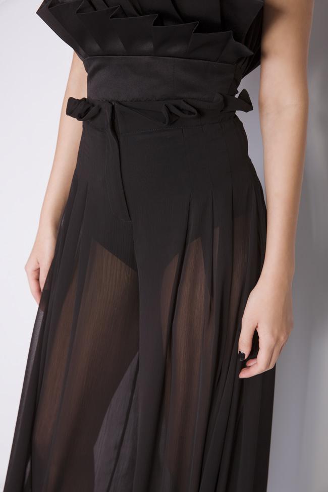 Pantalon large en voile Monarh image 3