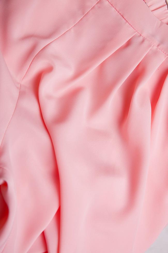 Crepe tapered pants Oana Manolescu image 4