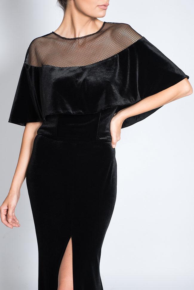 Robe en velours avec cape détachable Bien Savvy image 4