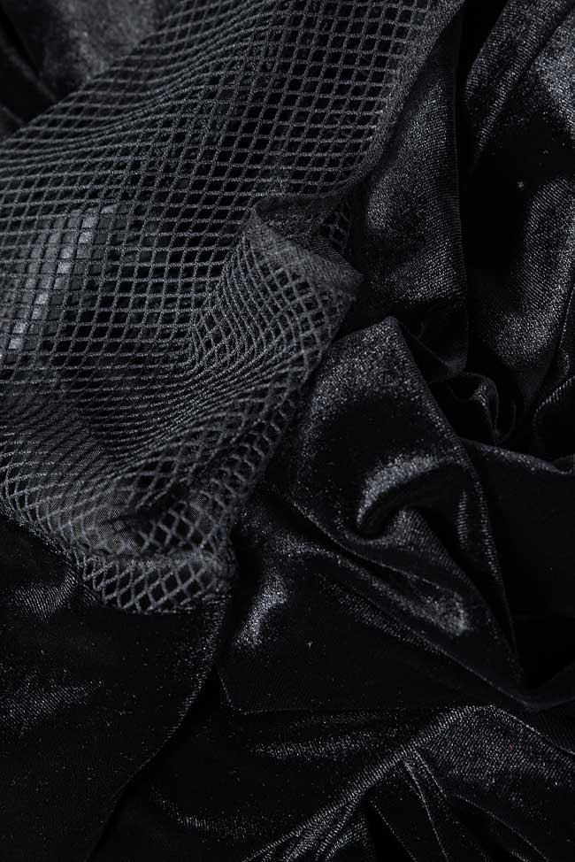 Robe en velours avec cape détachable Bien Savvy image 5