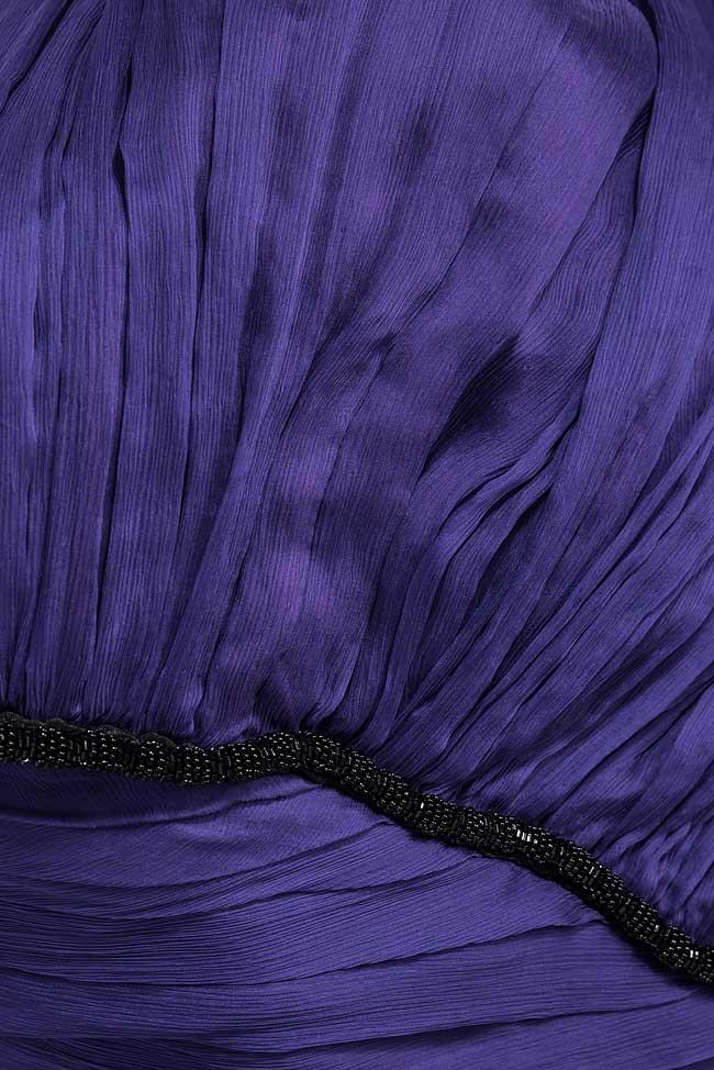 Robe en voile mousseline de soie et cordon en velours Bien Savvy image 4