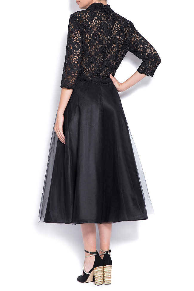 Embellished tulle and lace dress Bien Savvy image 2