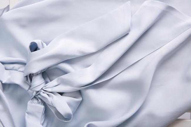 Bluza din viscoza Lizie DALB by Mihaela Dulgheru imagine 4
