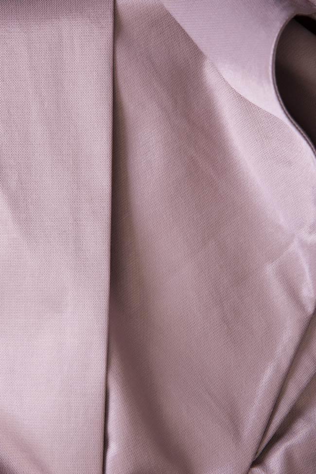 Darling satin cotton midi skirt DALB by Mihaela Dulgheru image 4