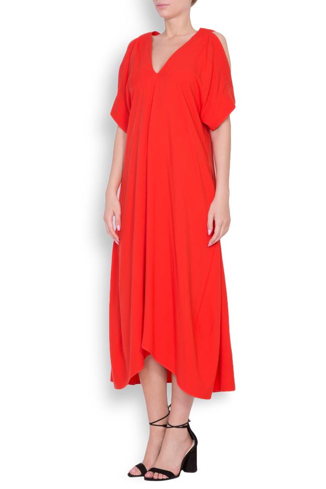 Cold-shoulder asymmetric dress Bluzat image 1