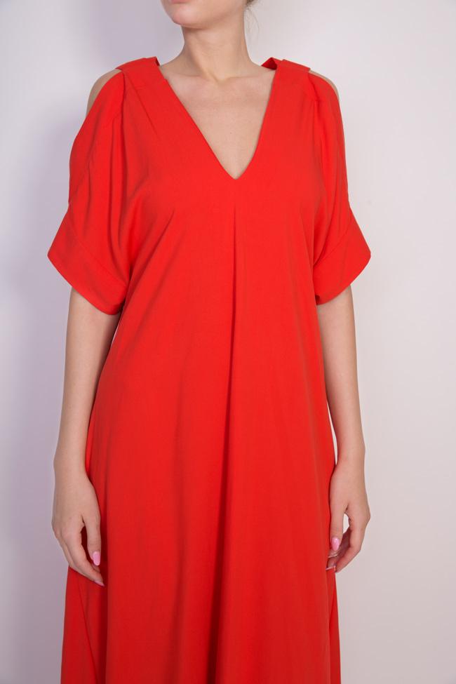 Cold-shoulder asymmetric dress Bluzat image 3