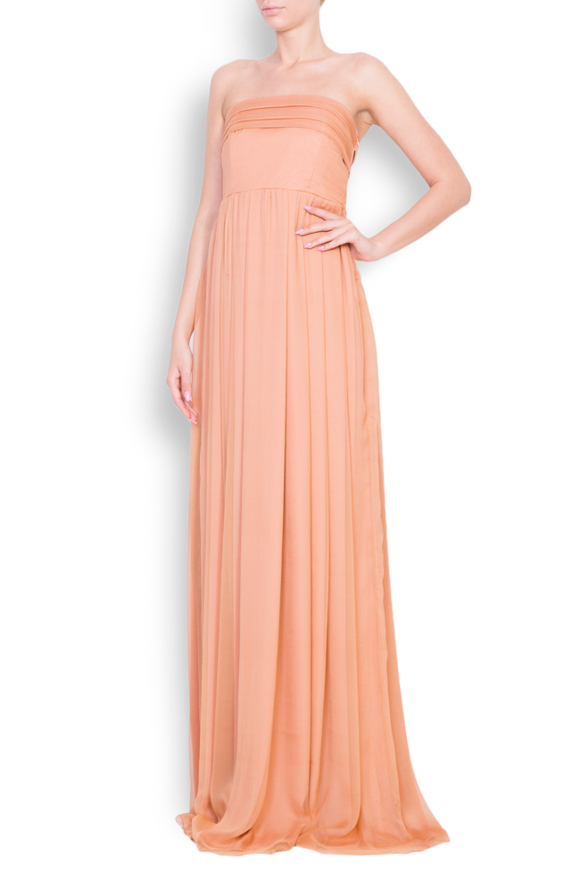 Silk maxi dress Bluzat Cocktail image 1