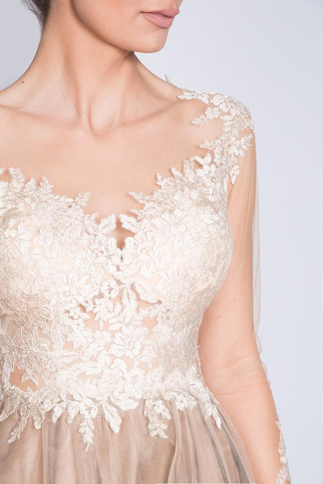 Embellished lace tulle midi dress Bien Savvy image 3