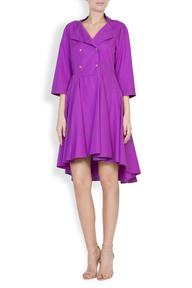 Rochie din bumbac Ander Framboise imagine 0