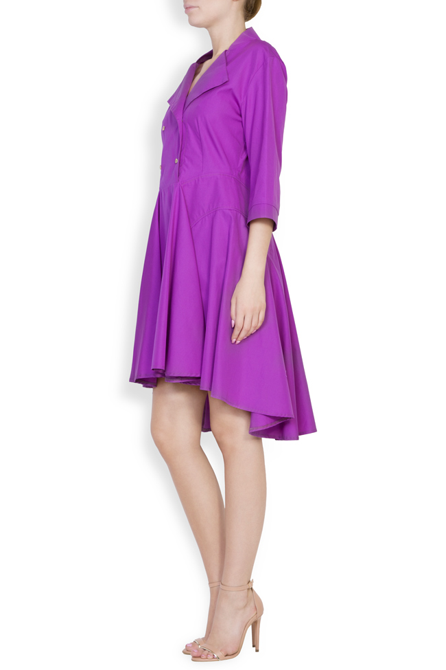 Rochie din bumbac Ander Framboise imagine 1