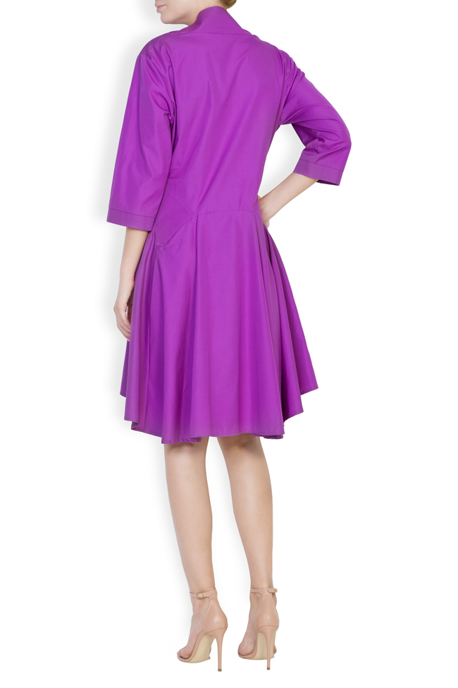Rochie din bumbac Ander Framboise imagine 2