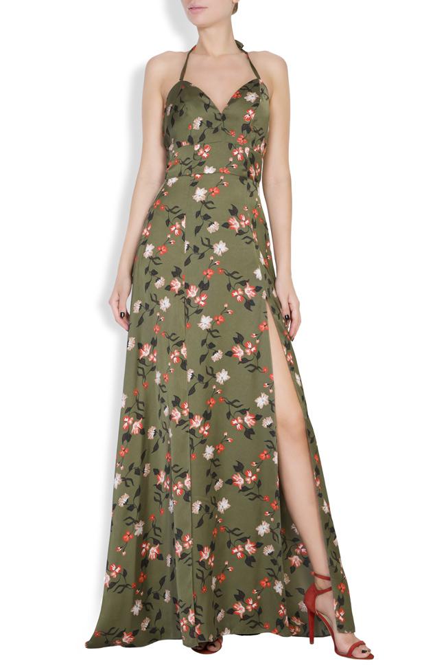 Robe maxi à imprimé floral Monarh image 0