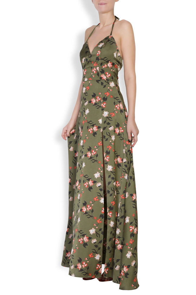 Robe maxi à imprimé floral Monarh image 2