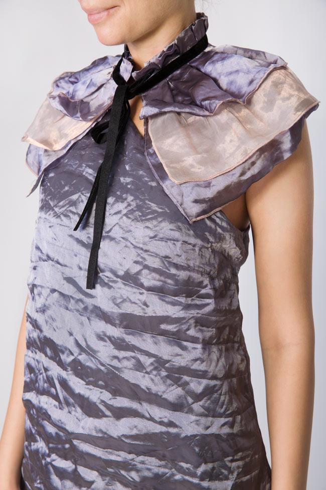 Cheshire Cat silk organza mini dress DALB by Mihaela Dulgheru image 3