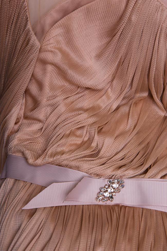 Robe en soie et tulle ornée de cristaux Lily Maia Ratiu image 4