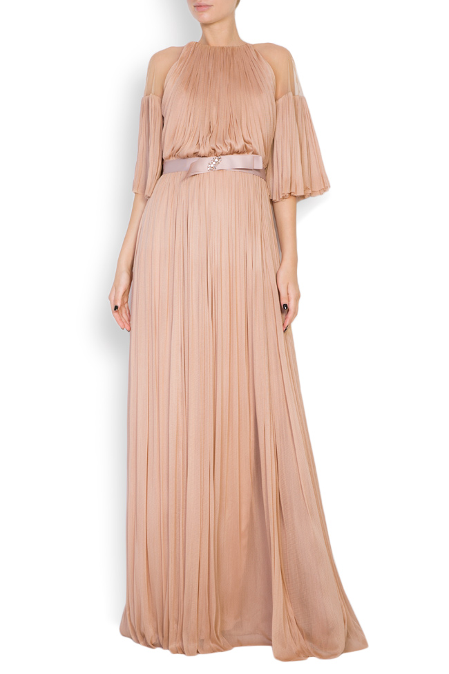 Lily crystal-embellished silk tulle gown Maia Ratiu image 0
