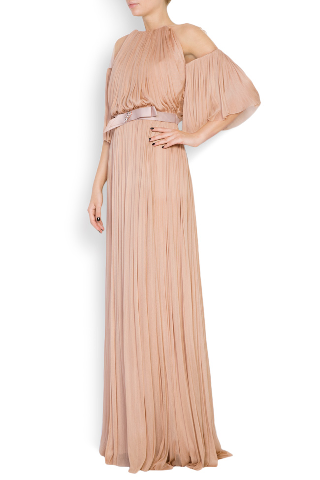 Lily crystal-embellished silk tulle gown Maia Ratiu image 1
