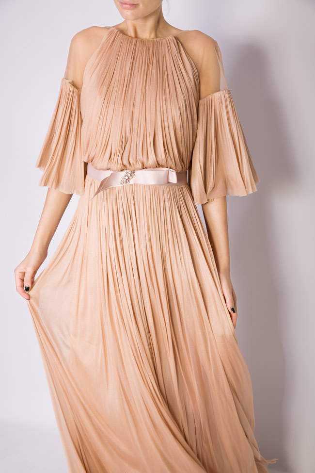 Lily crystal-embellished silk tulle gown Maia Ratiu image 3