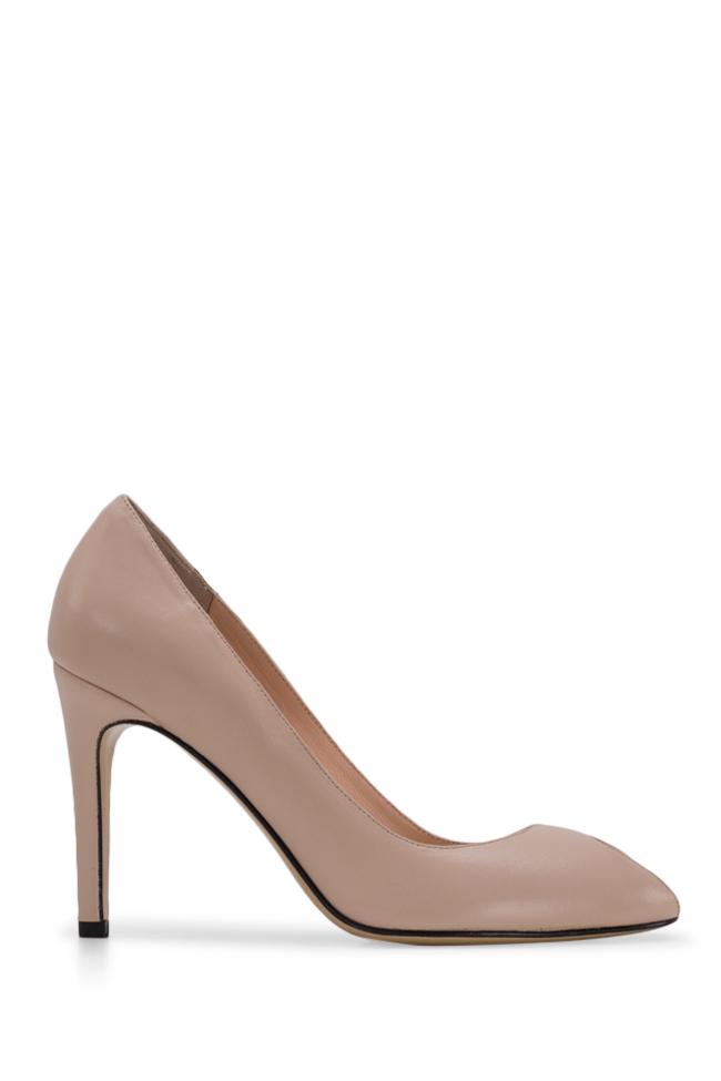 Chaussures en cuir à découpe Bela90 Ginissima image 0