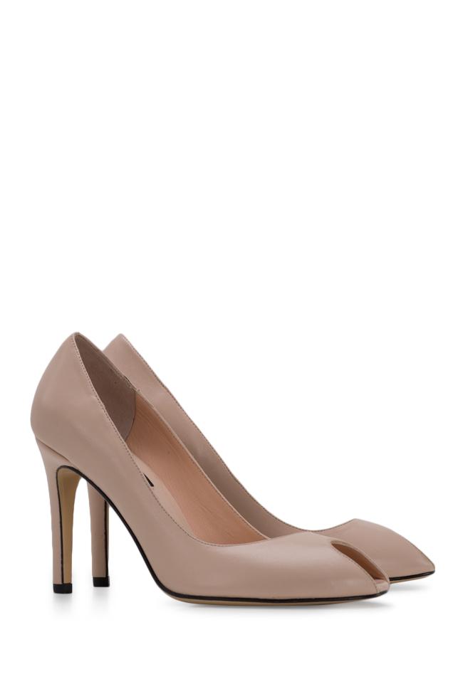 Chaussures en cuir à découpe Bela90 Ginissima image 1