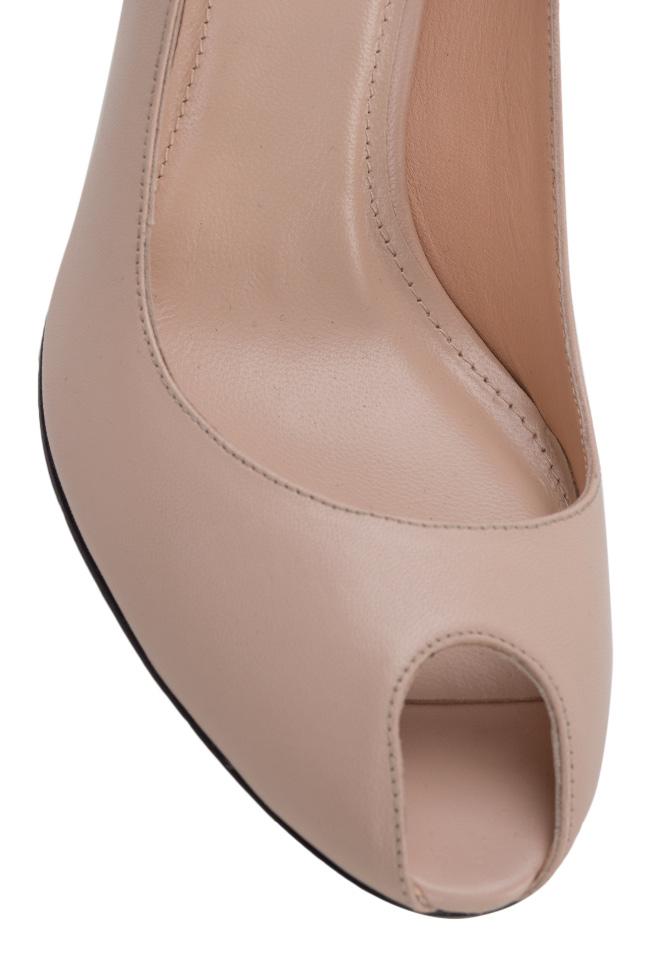Chaussures en cuir à découpe Bela90 Ginissima image 3