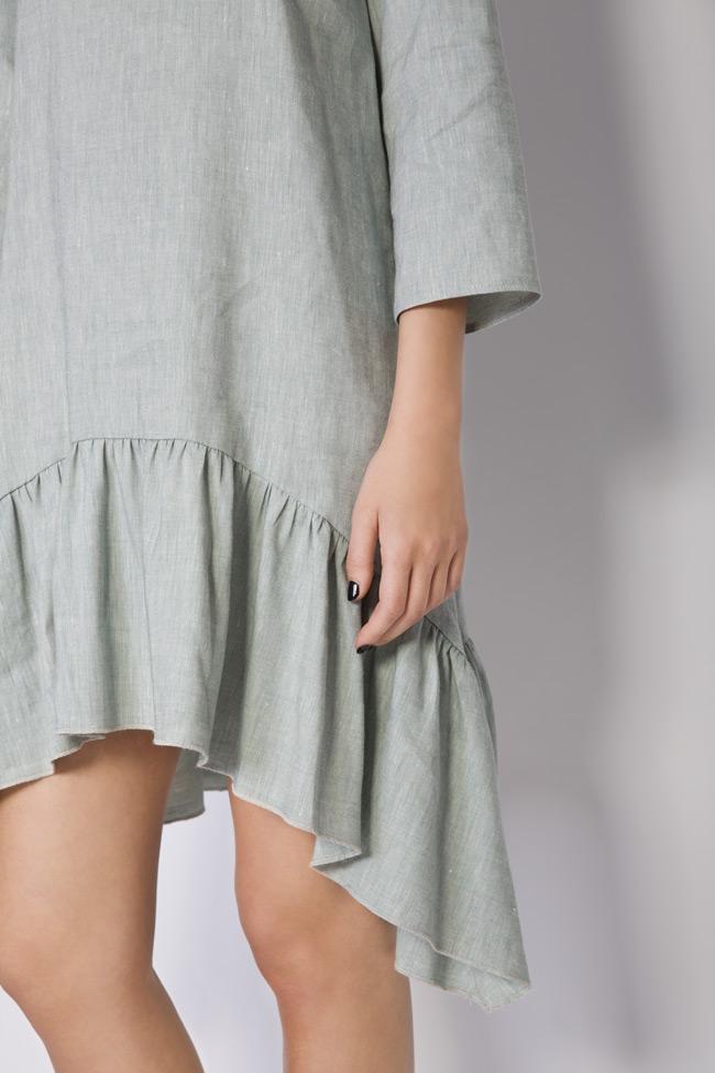 Asymmetric linen dress Bluzat image 3