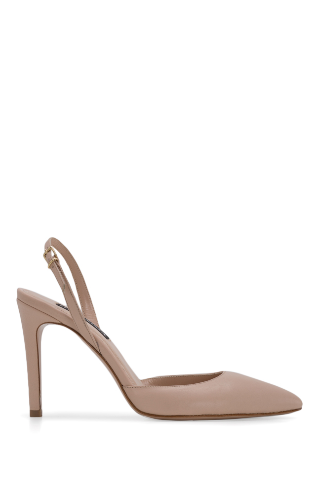 Alice75 leather slingback pumps Ginissima image 0