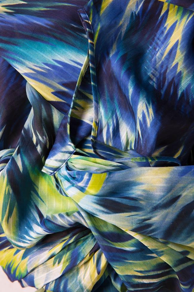 Robe en mélange de soie et coton Daniela Barb image 6