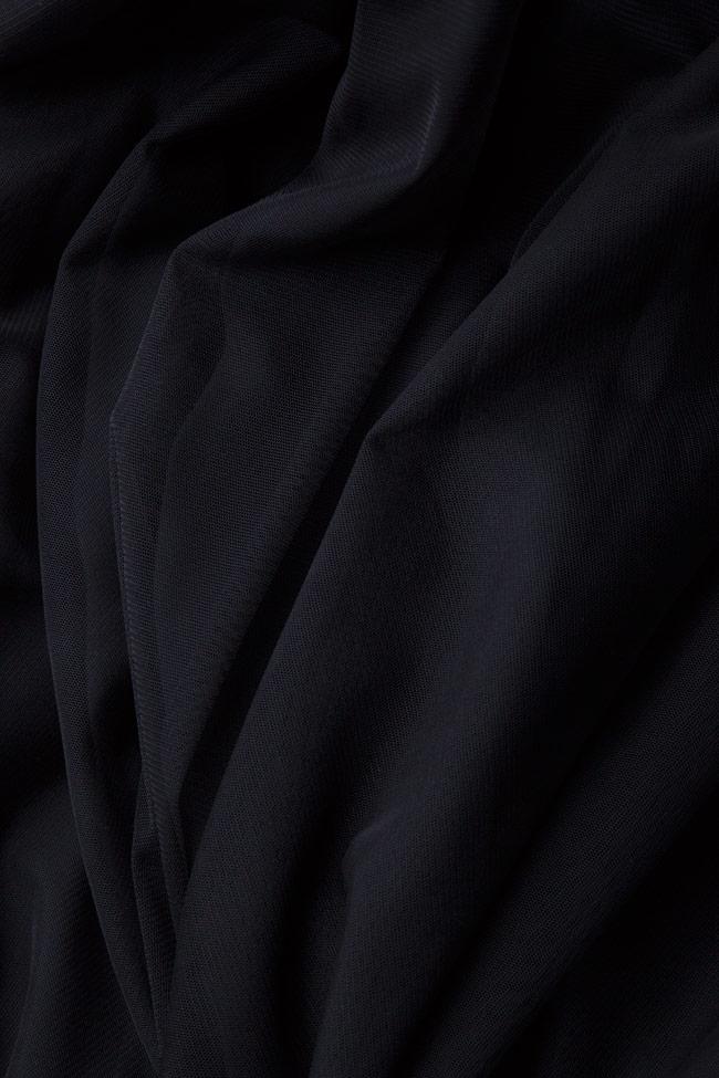 Fusta din tul negru cu centura elastica Marius Musat image 4