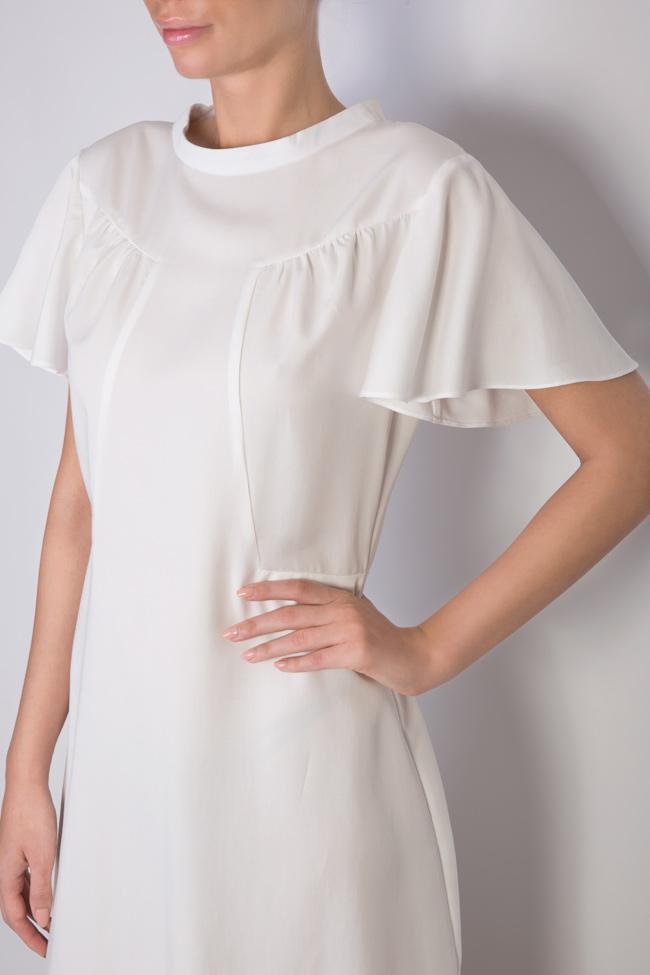 Rochie mini cu guler tunica Ronen Haliva imagine 3