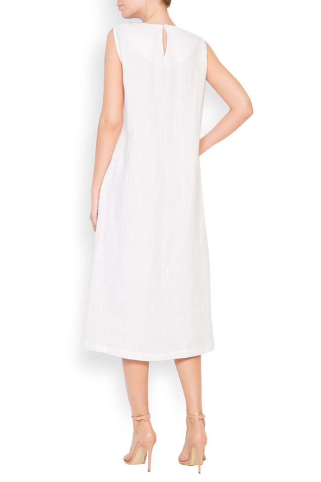 Robe en lin Romanitza by Romanita Iovan image 2