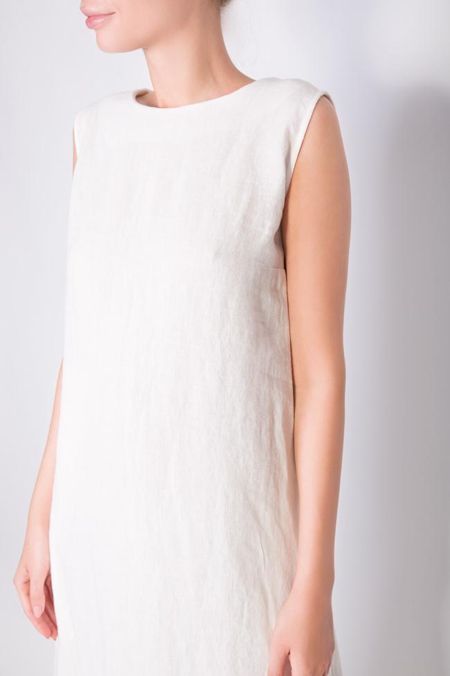 Robe en lin Romanitza by Romanita Iovan image 3